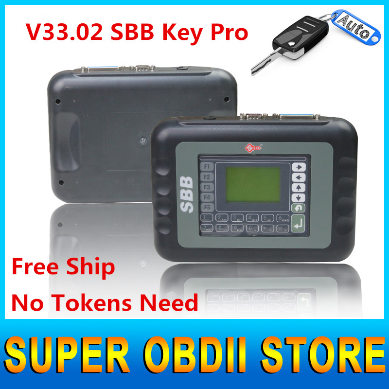 2016 Latest Sale V33.02 SBB New Immobilizer Transponder Auto Car Silca Sbb Key Programmer Multi-languages Universal Key Pro Tool(China (Mainland))