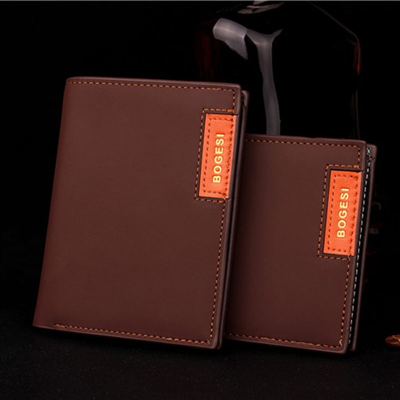 New Pomotion Men Short Wallets Famous Brand Male's Hot Hasp Vintage Wallet Solid Money Purse Fashion Male Retro Wallets(China (Mainland))