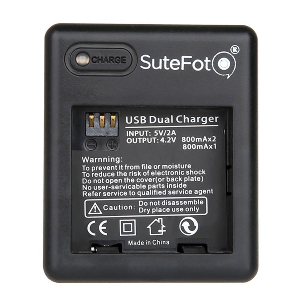 2 * 1010 mAh Battery + Battery Charger for Xiaomi yi Camera Xiaomi Xiaoyi Action Sport Camera Yi Accessories Dropshipping
