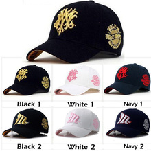 6 COLOR Men Wolf Letter Cotton Hats Caps Adjustable Bone Baseball Caps Casual Snapback Women Hairwear
