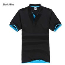 Большие размеры, XS-3XL, брендовая новинка, Мужская рубашка поло, высокое качество, мужская хлопковая рубашка с коротким рукавом, брендовые май...(China)