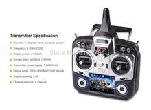 5 Set/Lot Walkera DEVOF7/ DEVO F7 7Ch 3.5″ Touch Screen Transmitter with RX701 Receiver for Walkera X350 Pro Remote Control