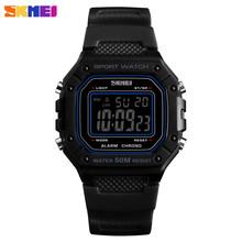 Relojes SKMEI para hombre reloj Digital LED de lujo de alta calidad para hombre reloj multifunción impermeable militar deportivo para hombre reloj 1496(China)