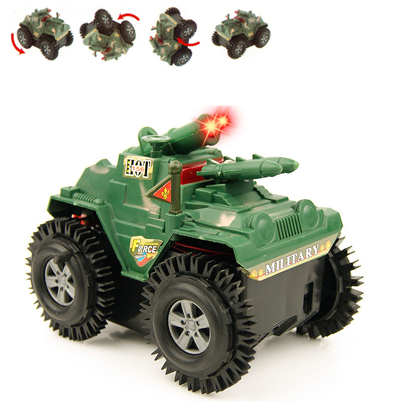SUV car modle Not RC Car Flip stunt car kids toys Mini small Armored car Juguetes Brinquedos Children's day gift boy toys(China (Mainland))