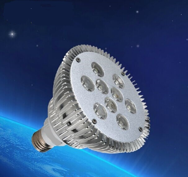 hot sell lamp 4pcs/lot 9w spot light with 95-265v input voltage ,900lm high brightness(China (Mainland))