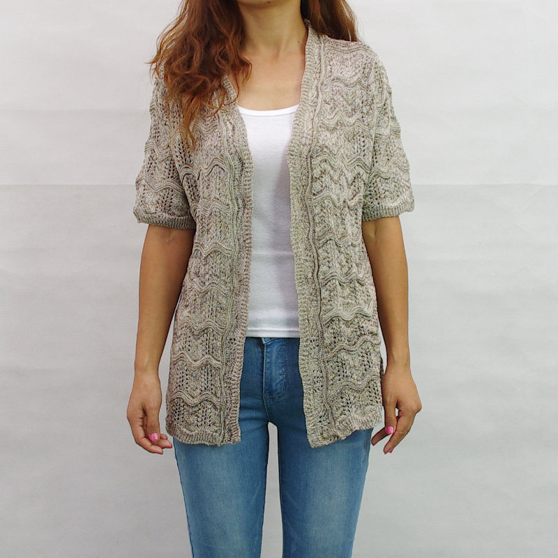 Plus Size Summer Cardigan Sweater Vest