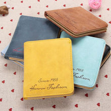 1 X Cute Kawaii Womens Girls Leather Wallet Coin Purse Clutch Wallet Card Holder Small Bag Charming Candy Color(China (Mainland))