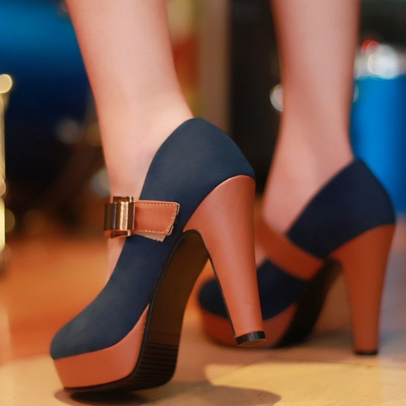 Free shipping  news high heel shoes heels women dress footwear fashion buckle sexy pumps P2583  hot sale size 34-39