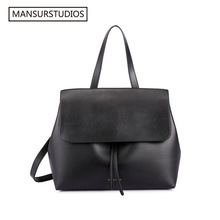 MANSURSTUDIOS classics shouder bag Mansur women genuine leather lady bag ,Gavriel lady real leather hand bag,free shipping(China (Mainland))