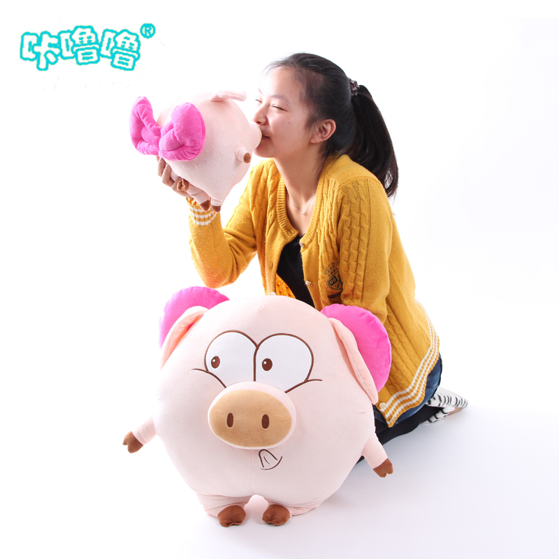 Pig pillow Large plush toy lovers cushion dolls birthday gift girls(China (Mainland))