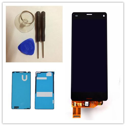 black or whiteFor Sony Xperia Z3 Mini Compact LCD D5803 D5833 LCD Display Touch Screen With Digitizer Glass Assembly+Repair Tool(China (Mainland))