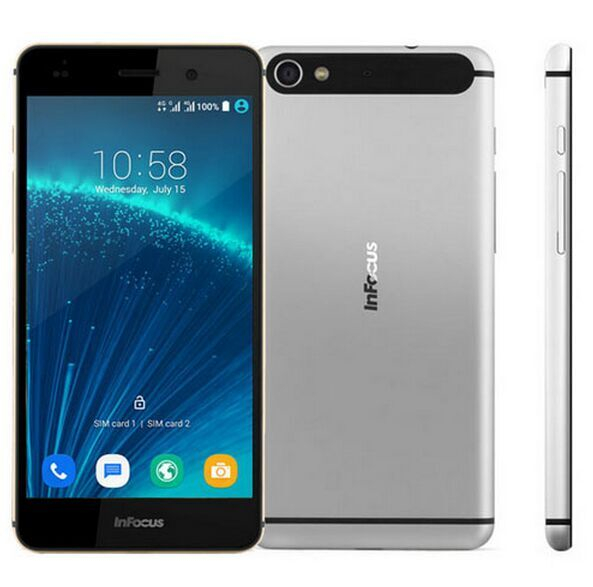 New Arrival Infocus M560 4G LTE Phone MTK6753 2GB RAM 16GB ROM Octa Core Android 5.1 FHD 1920*1080 2450mAh Smart Phone