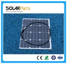 High efficiency 2pcs 50W flexible solar panel with sunpower solar module cell worked as battery power bank