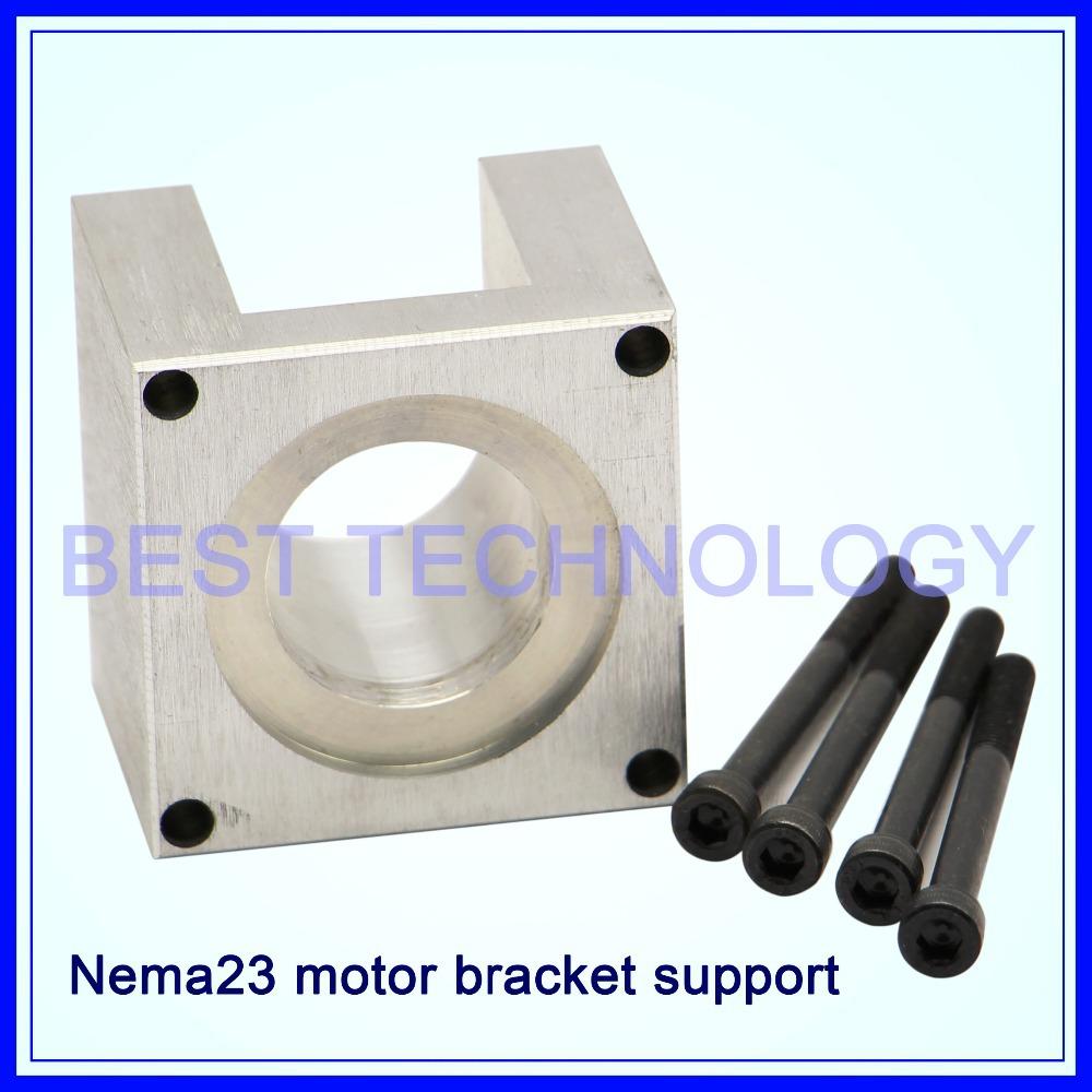 High quality nema 23 stepper motor accessories mounts for Nema 34 stepper motor mount