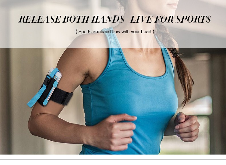 Hot Selling Universal Sports Running Armband for IPhone 6S Plus for Samsung Galaxy S6 / S6 Edge /for Xiaomi Outdoor Accessory