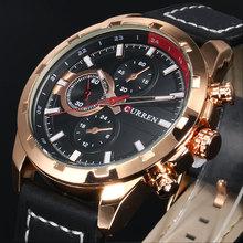 2016 CURREN Quartz Watch Men Watches Top Brand Luxury Famous Wristwatch Male Clock Wrist Watch Luminous watch Relogio Masculino