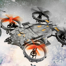 New Arrival YD-712 Avatar Battle Headoffice Quadcopter with Colorful LED Lights RC Helicopter Drone Big Size Remote Control Toy(China (Mainland))