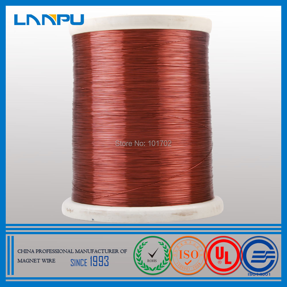 Professional Manufacturer 2UEW Copper Clad Aluminum Wire 30 Gauge ECCA Magnet Wire(China (Mainland))