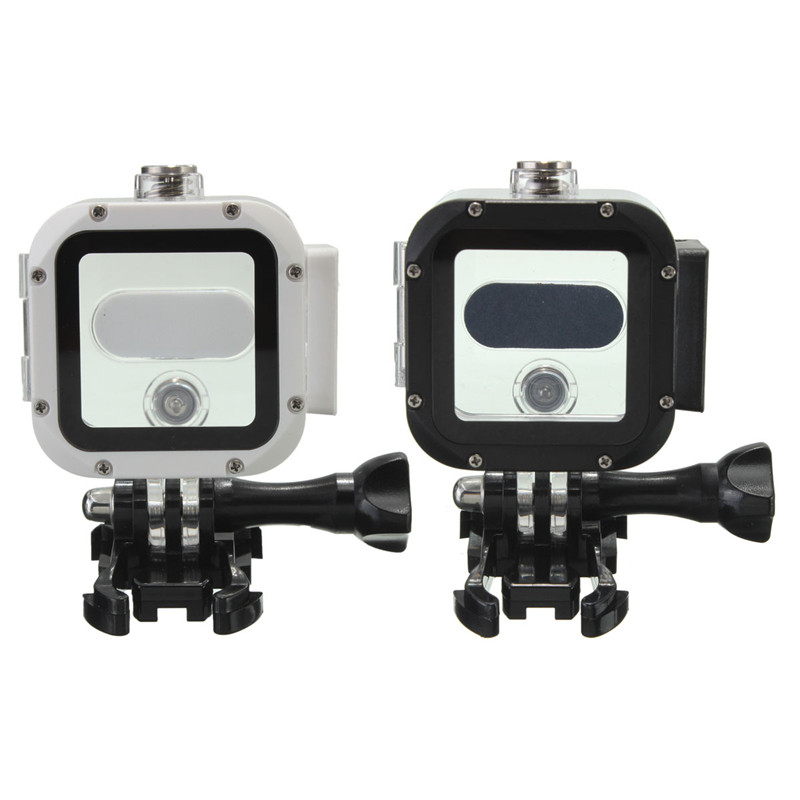 Underwater 60m Waterproof Protective Housing Case Cover Frame Base For GoPro Hero 4 Session outdoor sports camera<br><br>Aliexpress