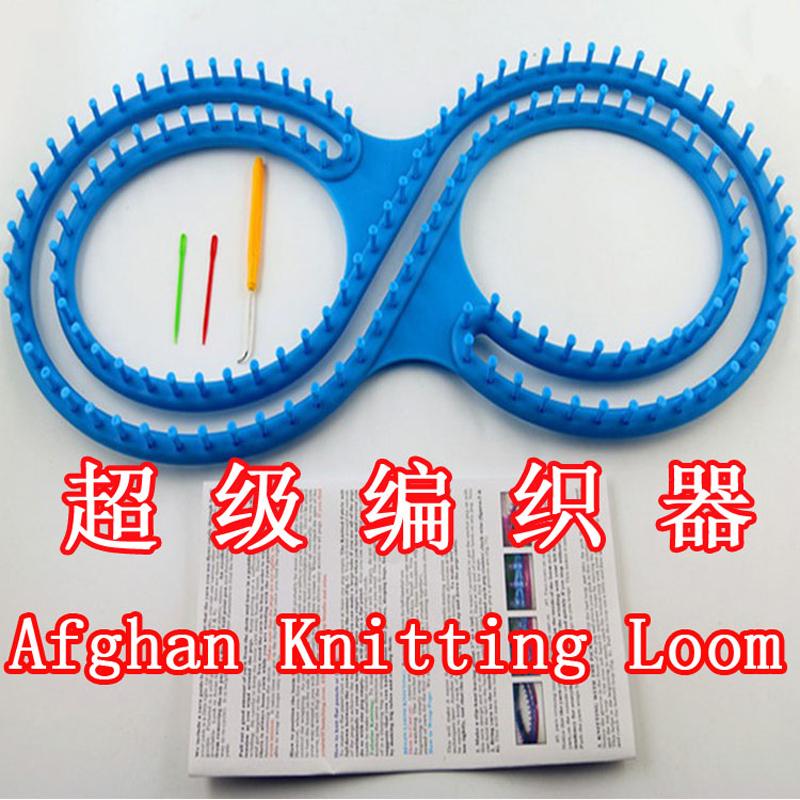 NEW 65cm Long 8 type Loom Knitting DIY sweater knit wool hat scarf shawl is crochet sweater afghan crochet tunisian crochet afgh(China (Mainland))