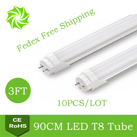 AC85-265V 3FT T8 LED Tube Lamps 900mm 90cm 0.9m 14Watt Lights 14W Fedex 1 - ShenZhen YOUYILI Lighting Co., Ltd. store