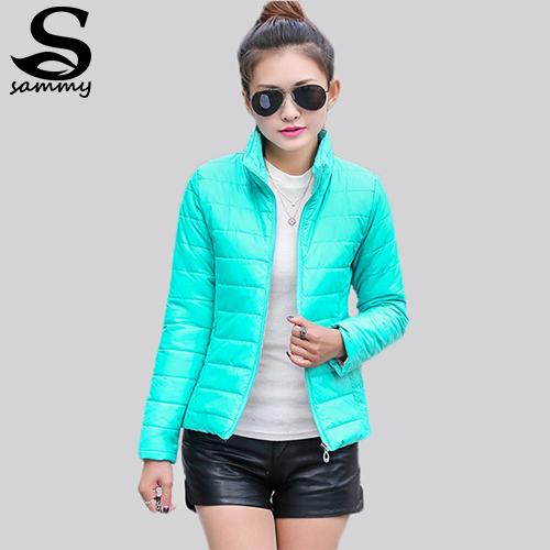 2014 NEW brand new women s sport jacket to keep warm in winter padded silk ladies