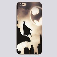 lonly batman comics Design transparent case cover cell mobile phone cases for Apple iphone 4 4s 5 5c 5s 6 6s 6plus hard shell