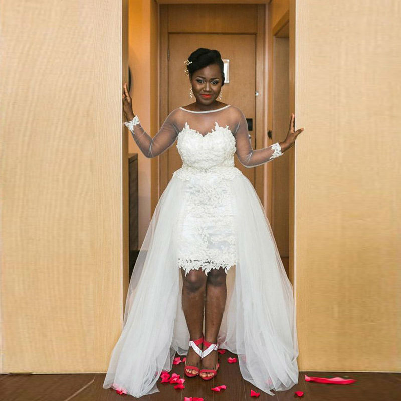 Plus size couture dresses prom dresses 2018 for Couture plus size wedding dresses