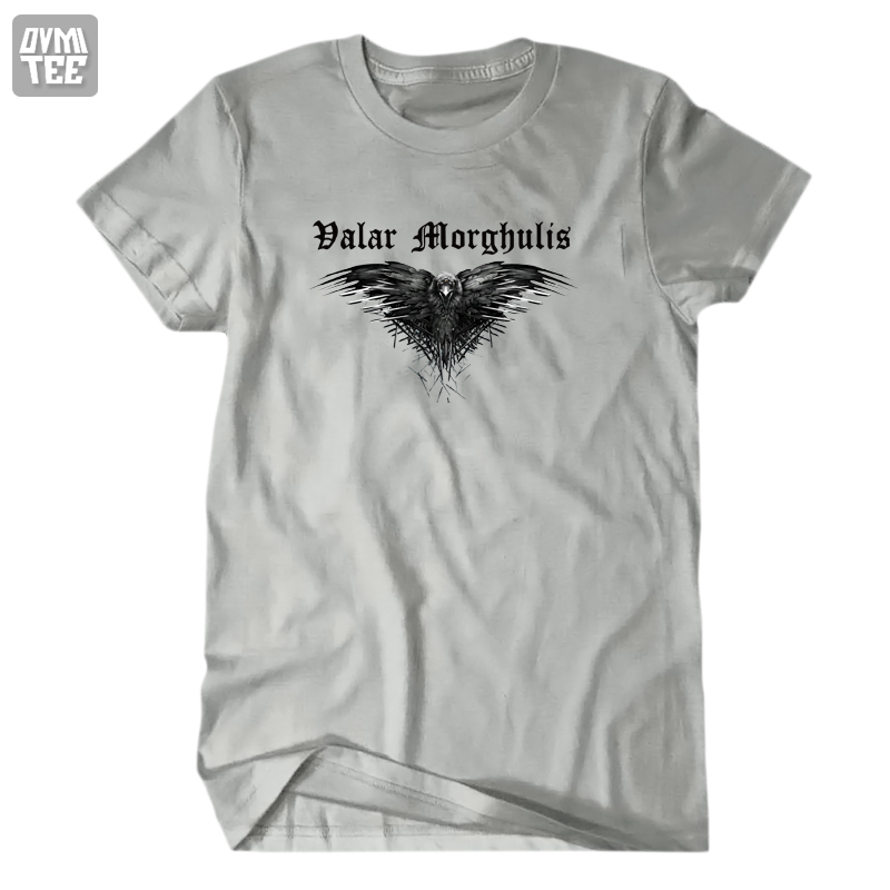 Game of Thrones Valar morghulis Three eyes Raven men women t shirt high quality t shirt homme camisetas comfortable casual tees(China (Mainland))