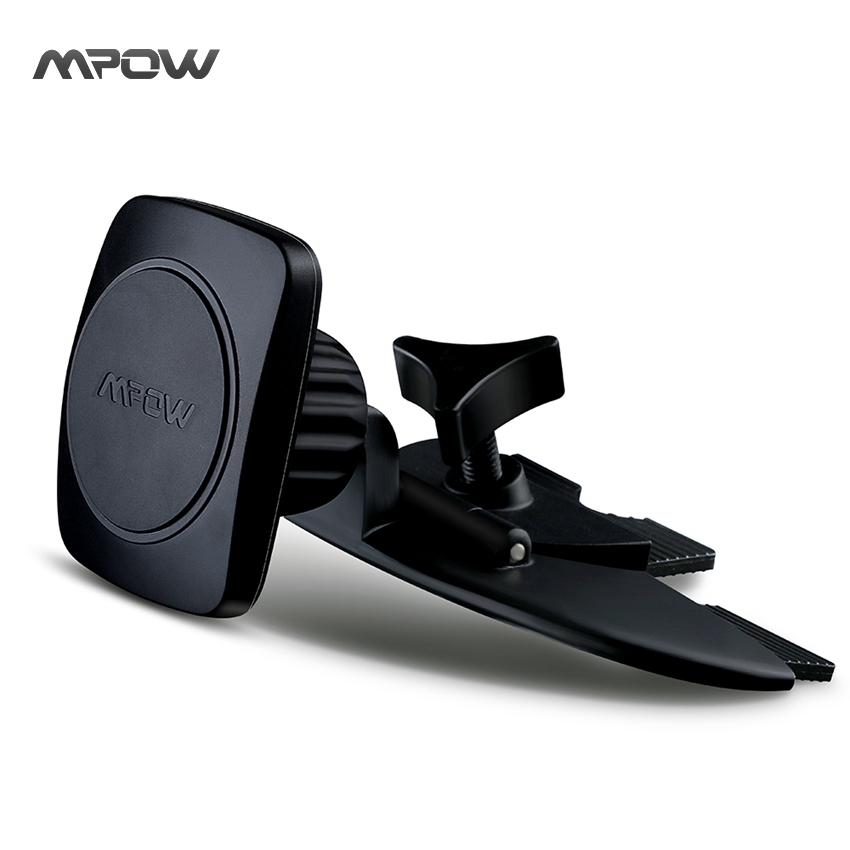 MCM3B Mpow BLACK Car Phone Holder Universal Magnet Grip Magic I CD Slot Car Cradle-less Mount Holder for iPhone 6s Plus 6s 5s(China (Mainland))