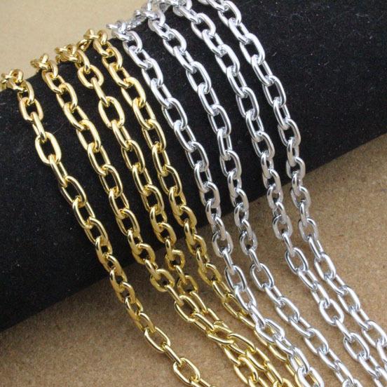 5 meters lot 5 8 1mm silver gold jewelry bulk aluminum