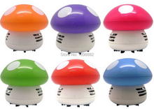 2015 New Arrivel !! Home Handheld Mushroom Shaped Mini Vacuum Cleaner Car Laptop keyboard Desktop Dust cleaner Free shipping(China (Mainland))