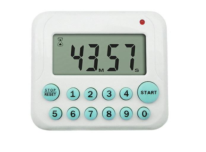 Digital kitchen timer count down up timer 10 number