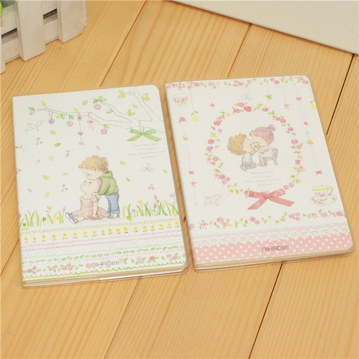 New Arrive Lovely Design Book Gum Cover 60 sheet Student Note Book Soft Copybook Daily Memos Free Shipping<br><br>Aliexpress