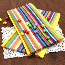Buy Free Shipping (1000 strips/package)27 Candy Colors Handcraft Origami Lucky Star Strips DIY Paper Decoration craft paper Wish Gift for $9.19 in AliExpress store