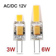 NEUE Ankunft Mini G4 LED Lampe 3 Watt 6 Watt DC/AC 12 V LED G4 Licht Dimmbar Lampadas FÜHRTE COB Birne Ersetzen Halogen Kronleuchter Lampen(China (Mainland))