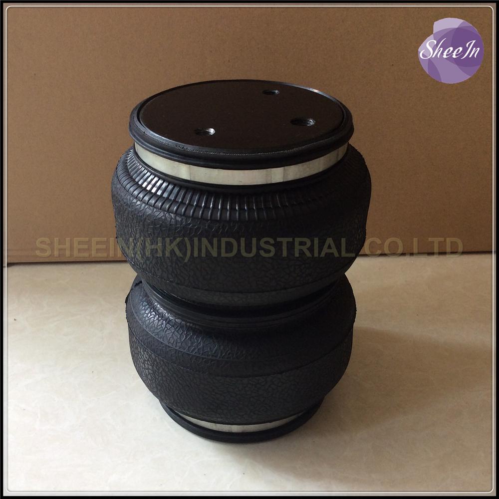 Dia.142mm SN142187BL2 Double convolution airspring/airbag shock absorber/pneumatic/Airride/air suspension/air bellows/gas spring(China (Mainland))