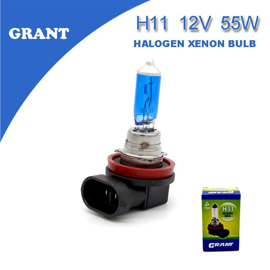 2PCS 2015 GRANT H11 12V 55W Halogen Xenon Bulbs 6000K Clear White Auto Automobiles Replacement Lamps Foglights Free Shipping(China (Mainland))