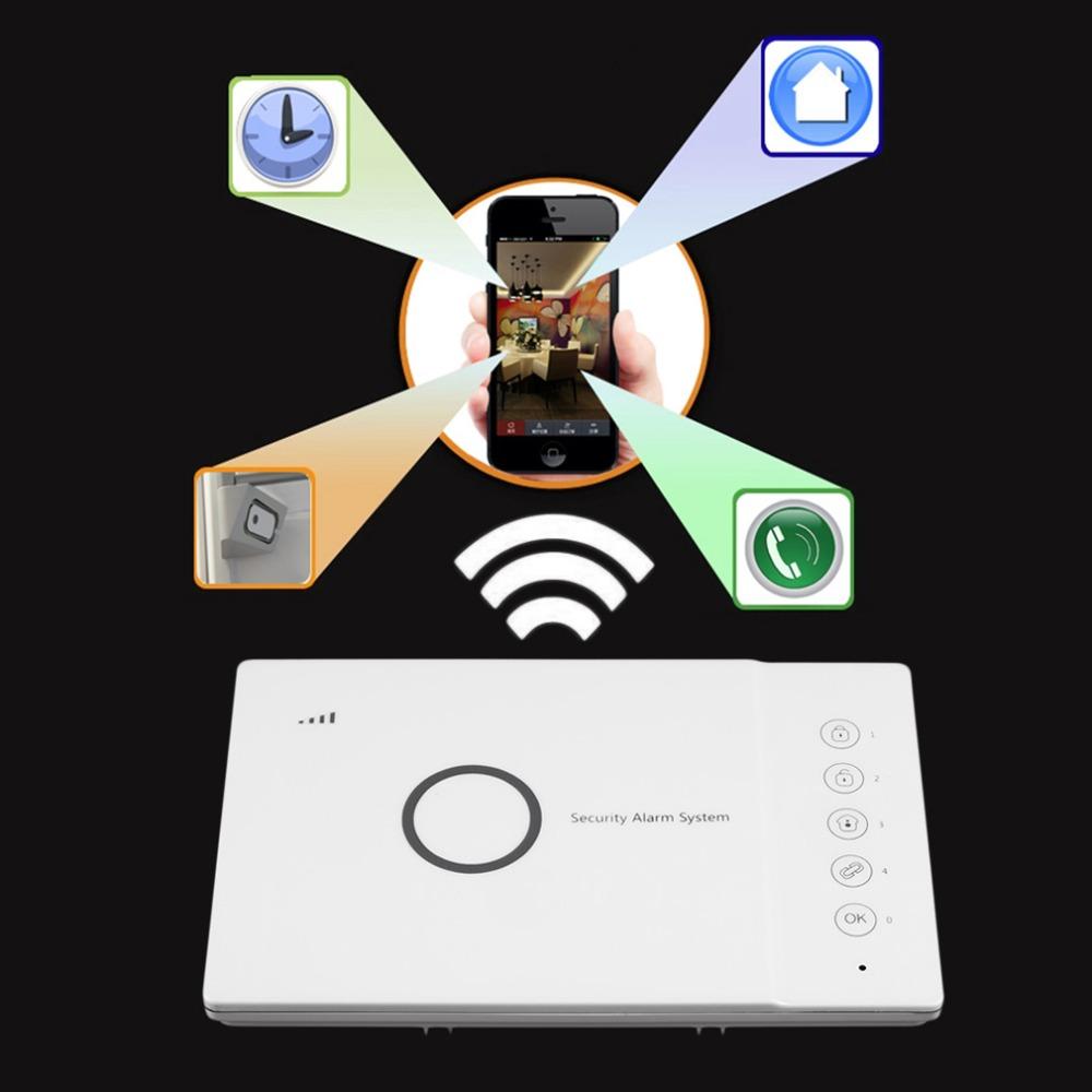 Wireless Home Digital Burglar Smart GSM Security Alarm System ALF-GSM04<br><br>Aliexpress