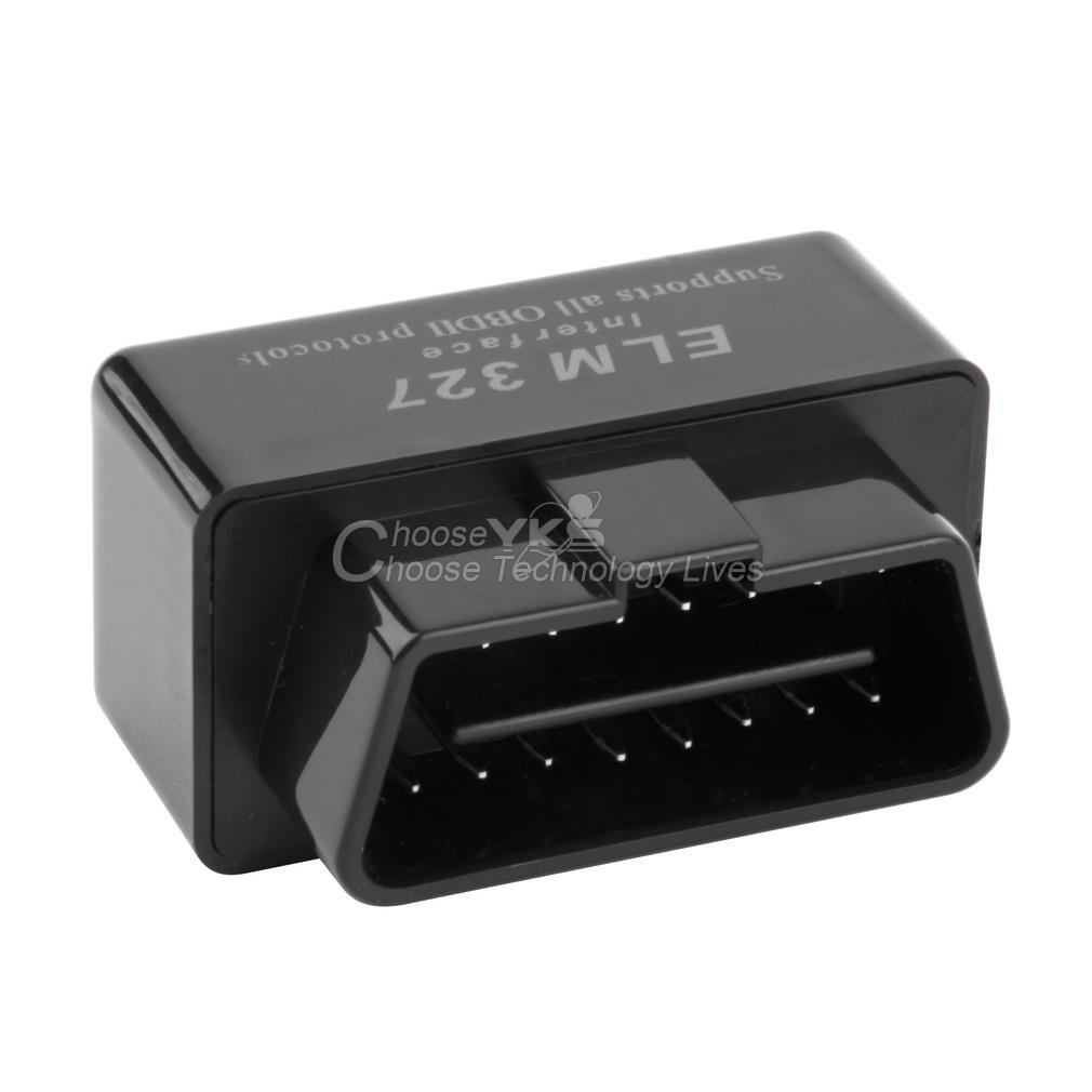 ELM327 obd2 Bluetooth Diagnostic Interface Software Auto Car Scanner for Android YKS(China (Mainland))