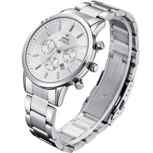 Weide WH3312 relojes hombres de cuarzo reloj deportivo Diver Luxury Brand hombres de acero calendario completo relojes de pulsera Relogio Masculino