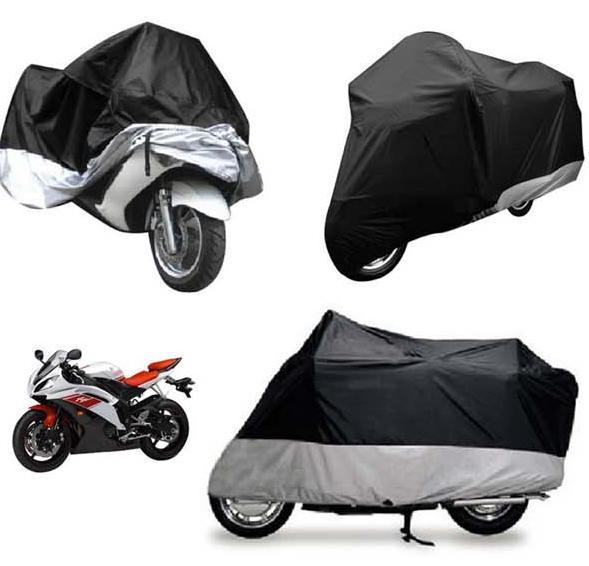 XL Motorcycle Waterproof Outdoor Motorbike Rain Vented Bike Cover Extra Large(China (Mainland))