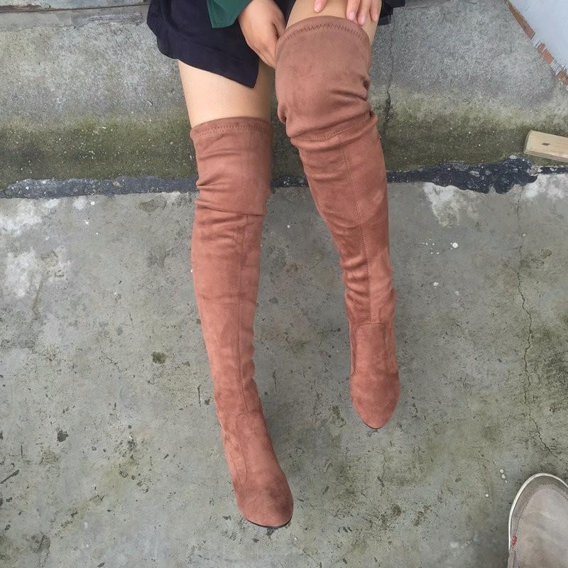 Женские ботинки Faux Winered