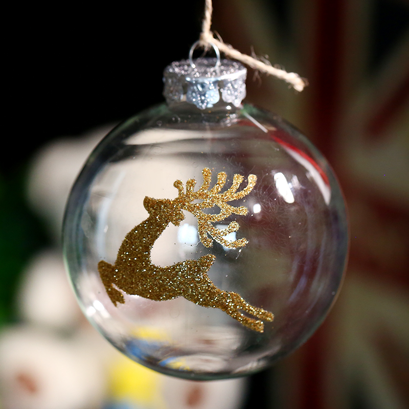Online buy wholesale clear glass christmas ball