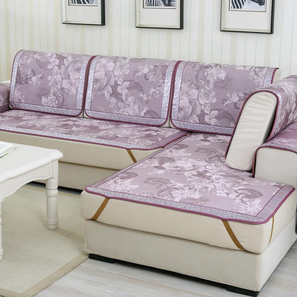 Acquista all 39 ingrosso online viola divano in pelle set da - Copridivano per divano in pelle ...
