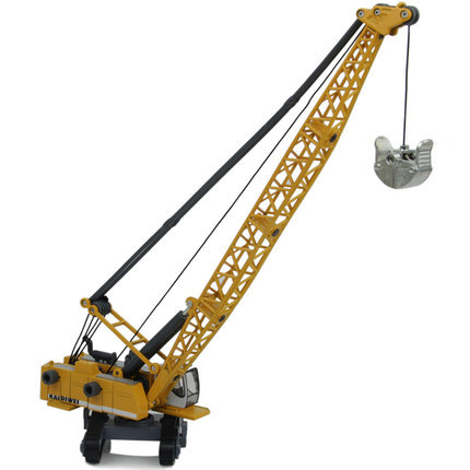 Free shipping!! Classic Retractable 1:87 Alloy Crane Toy Model baby educational scale model cars for kids(China (Mainland))