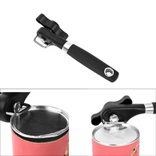 Free Shipping High Quality Kitchen Cans Opener Professional Ergonomic Manual Can Opener Side Cut Manual Can Opener(China (Mainland))