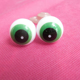 50pcs/lot---20mm round plastic safety toy eyes with washer for plush bear animal doll accessories