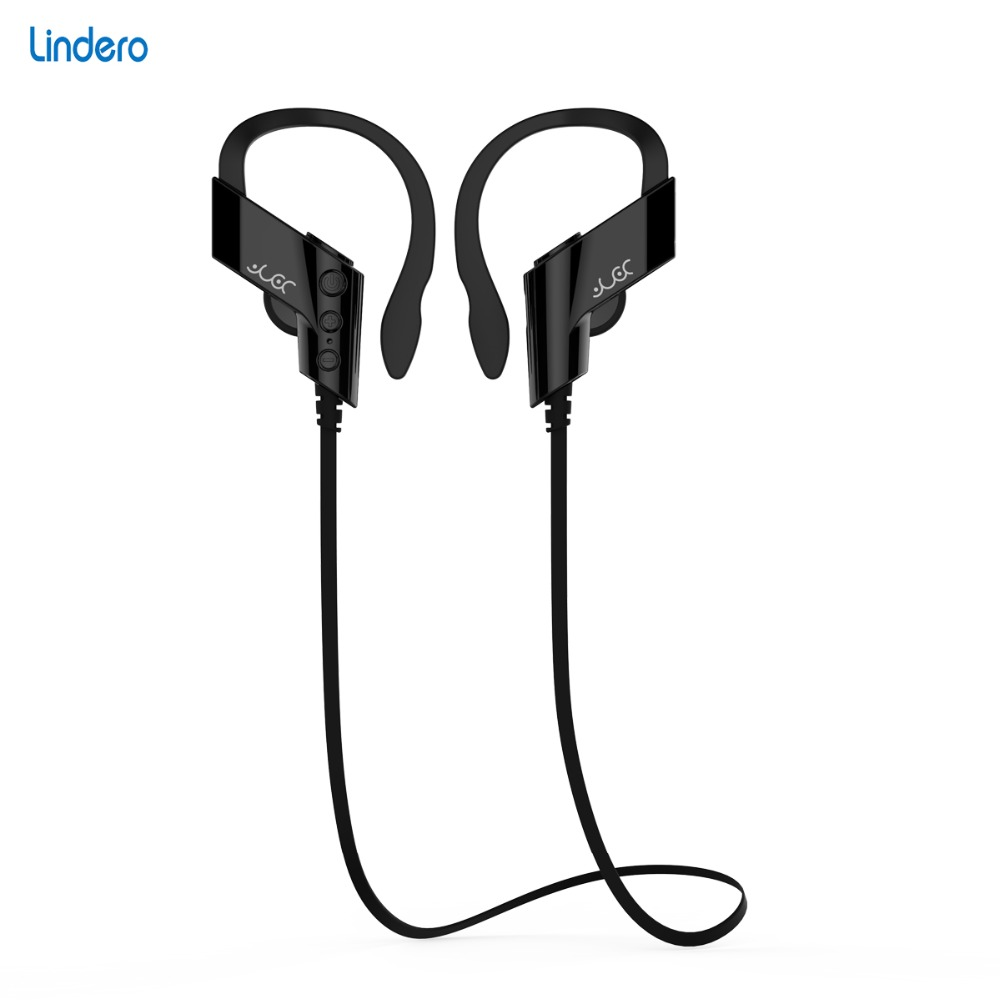 Lindero S501 Blue tooth Sport Earphone Stereo Waterproof Wireless Microphone Neckband Voice Control Support Music Handsfree(China (Mainland))