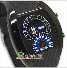Nueva moda segunda generación RPM Turbo azul luz LED Digital relojes de pulsera Michael reloj